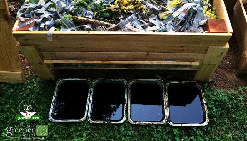 Sıvı solucan gübresi üretim